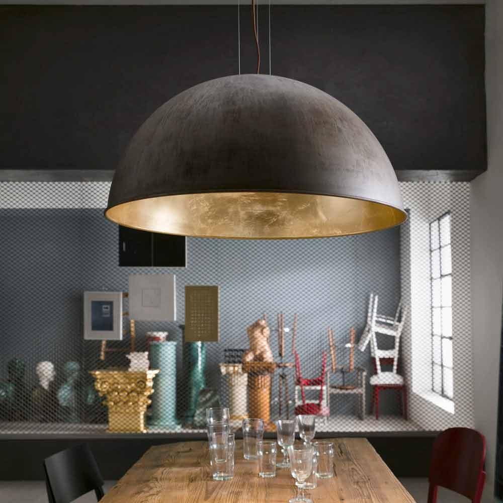 Topp Hængende lampe rustikt design Ø40 cm Galileo Il Fanale LJ-01