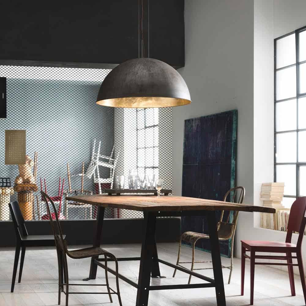 Modernistisk Hængende lampe rustikt design Ø60 cm Galileo Il Fanale FM-27