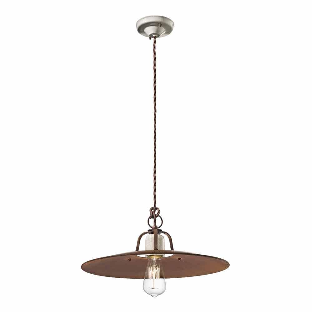 h ngende lampe ferroluce h ndv rk industriel stil