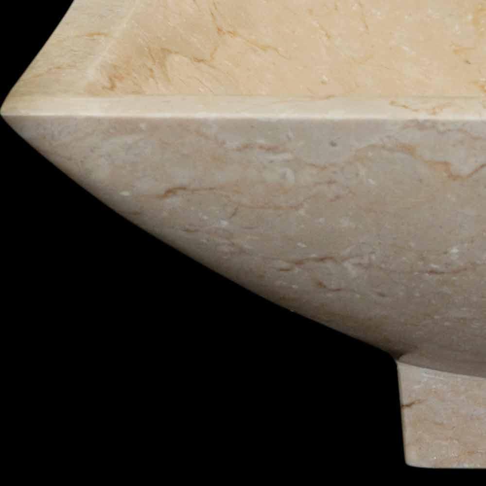 Håndvask Design Badeværelse I Natursten Iria, Unikt Stykke