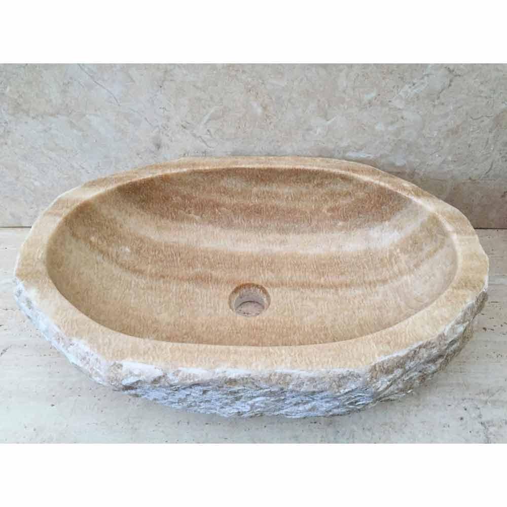 Bordtænkevask Til Laia Badeværelse I Natursten