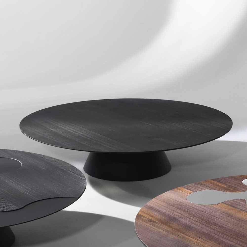 Veldig Moderne sofabord, sortlakeret lærk Giglio BR-55