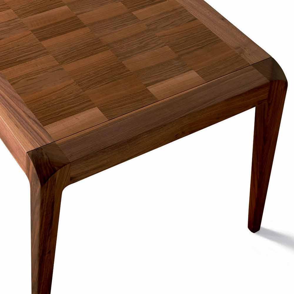 0701f9a265e Udvidelse bord naturlige valnød moderne design, Sanni