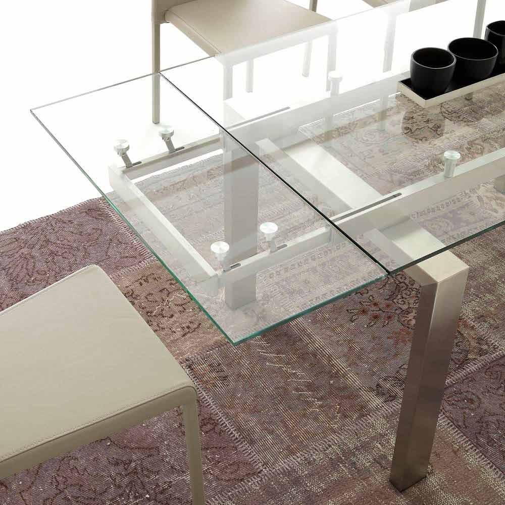 Spisebord i glass