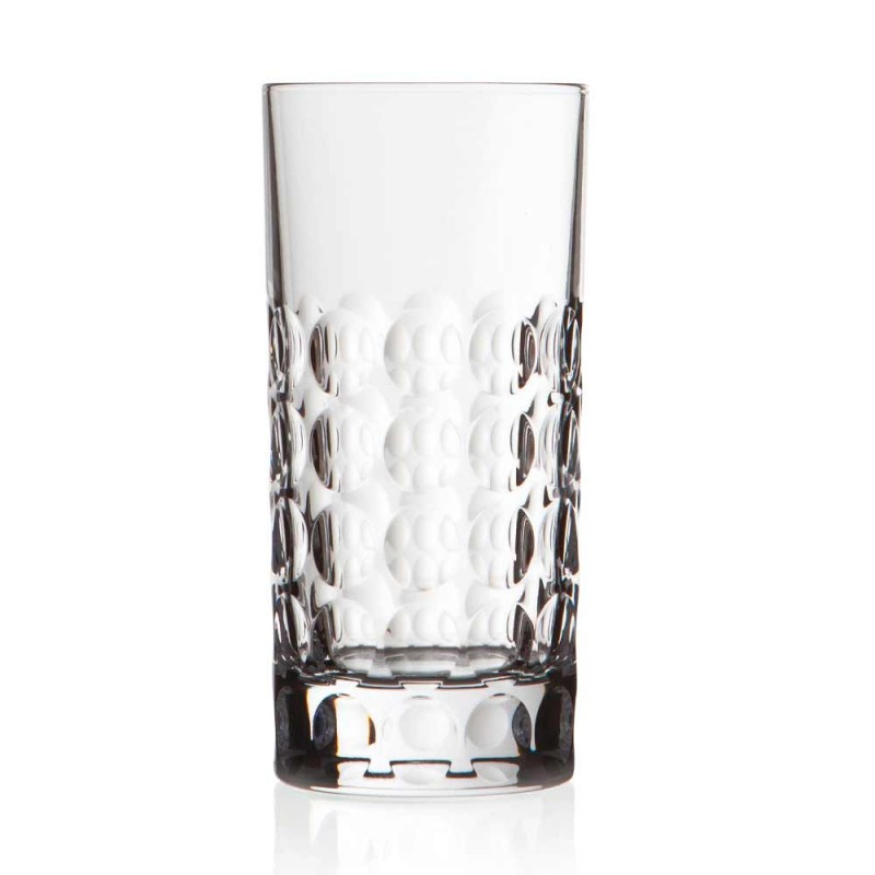 12 Highball-briller til sodavand eller lange drikke i øko-krystal - Titanioball