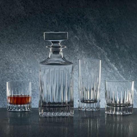 12 Tumbler Tall Long Drink Glasses i økologisk krystal - Voglia