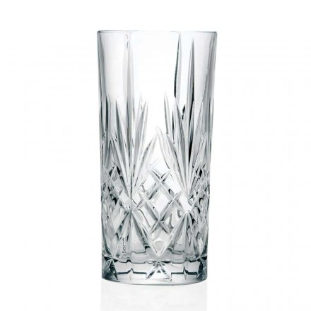 12 briller, High Tumbler, Highball til cocktail i Eco Crystal - Cantabile