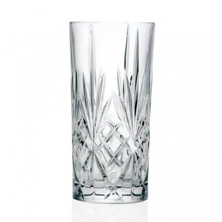 12 Tumbler Alto Highball Briller til Cocktail i Eco Crystal - Cantabile
