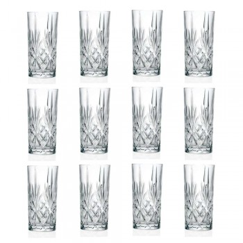 12 Tumbler Alto Highball Briller til Cocktail i Eco Crystal - Cantabile