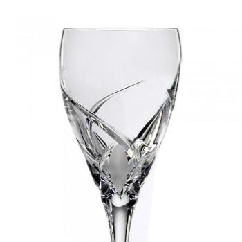 12 luksuriøse design vinsmagningsbriller i øko-krystal - Montecristo