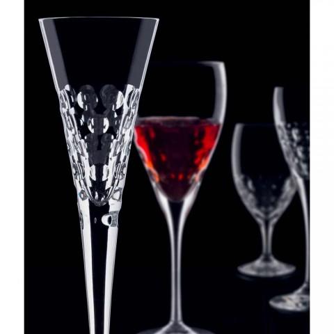 12 vinglas flutterbriller til krystalkugler - Titanioball