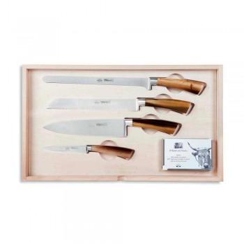 14 knive komplet Berti kasse eksklusivt til Viadurini - Canaletto