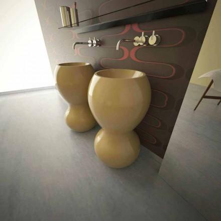 Ariel moderne design søjlevaske, lavet i Italien