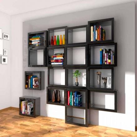 Design væg bogreol Fra011 Lavet i Italien