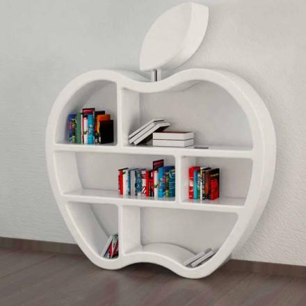 Gluttony rød, hvid eller grå moderne design bogreol