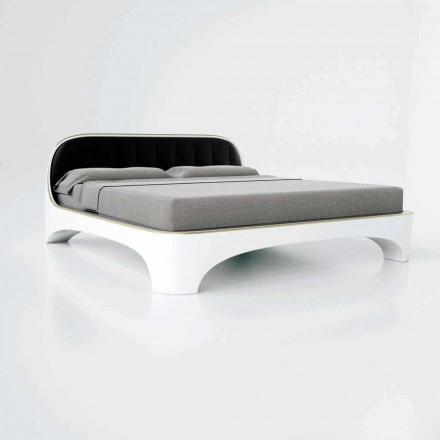 Luksus Design Moderne Dobbeltseng Elegance Lavet i Italien