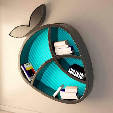 Moderne designhylde Poppy Book Viadurini Design lavet i Italien