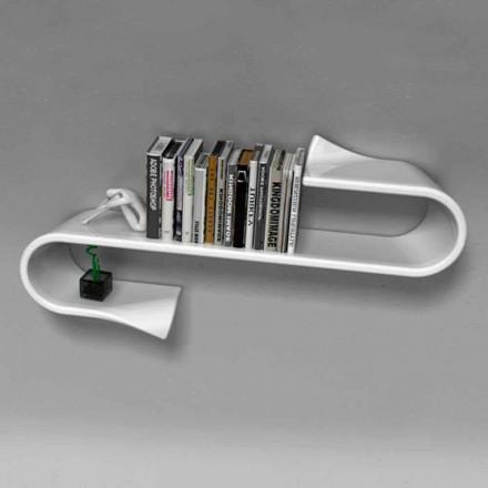Moderne designhylde Waveshelf Viadurini Design lavet i Italien