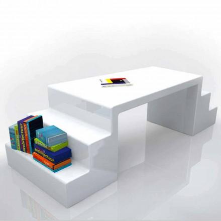 Moderne kontorbord i hvid, grøn eller Abbott moka