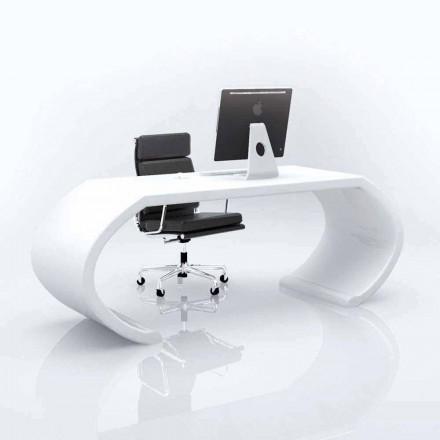 Moderne design kontor skrivebord Adams, lavet i Italien