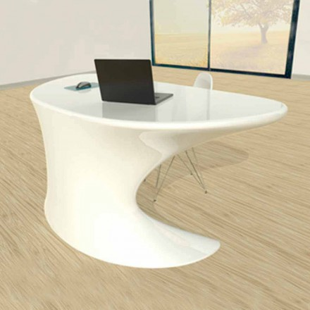 Hvid, blå eller grå Cobra moderne kontorbord