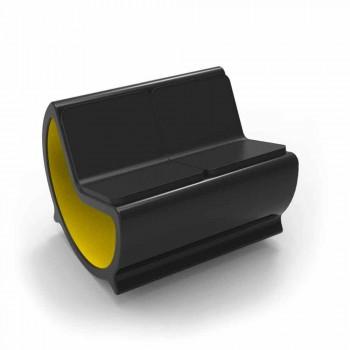 2 Sæder Rocking Sofa Design Månen Made in Italy