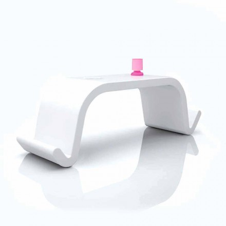 Acton moderne design skrivebord, sort eller hvid