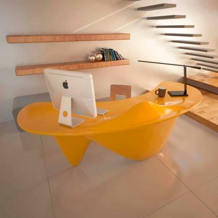 Håndlavet kontorbord i Italien Sinuous