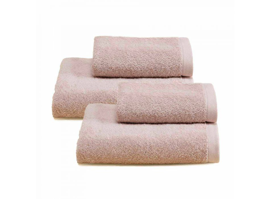 2 par badehåndklæder farvet service i bomuldsspuna - Vuitton