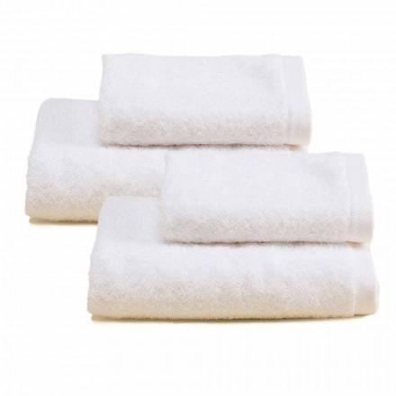 2 par farvet bomuldsbadehåndklæder - Vuitton