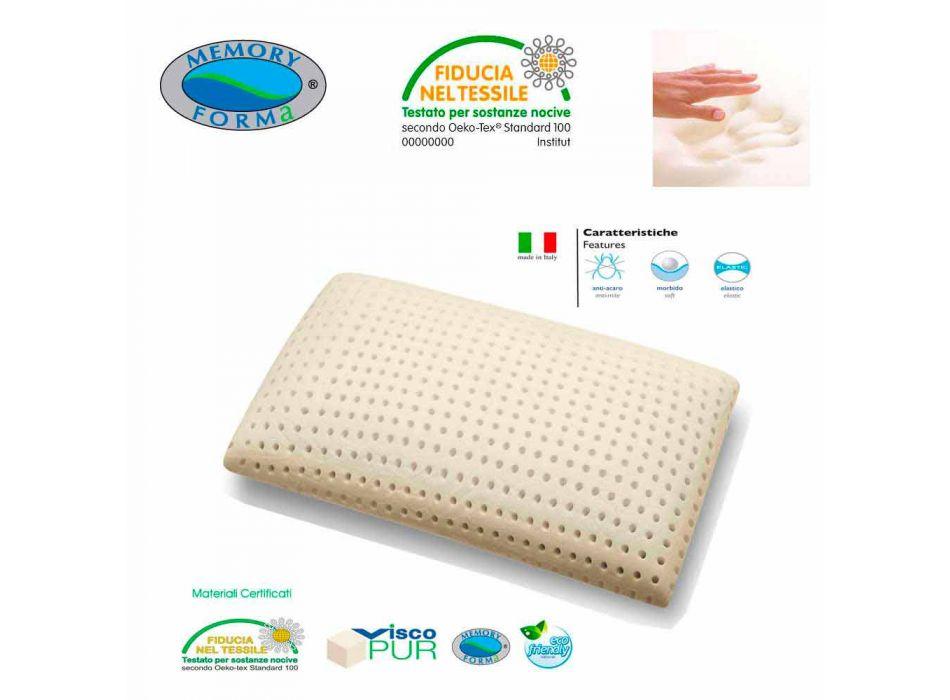 2-allergifremkaldende og åndbare puder Memory Foam Memory Zone 5