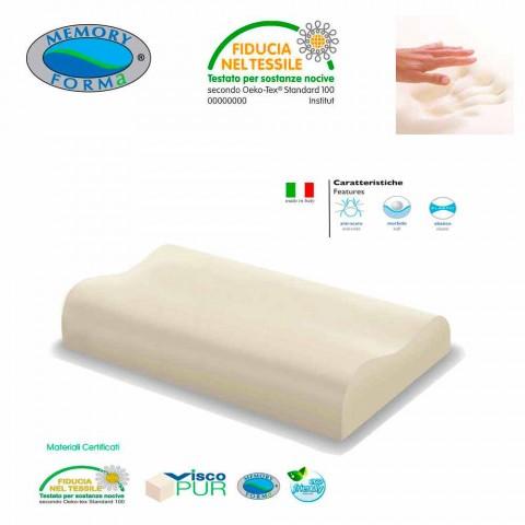2 ergonomiske allergivenlige puder Memory Foam Memory Cervikal