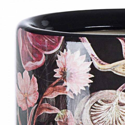 2 Porcelænsparaplystativ med Homemotion Flower Decal - Jolly