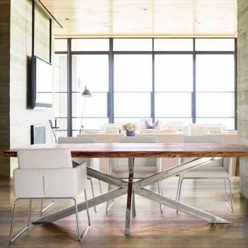 2 stole med armlæn overdækket i kunstlæder Modern Design Homemotion - Farra