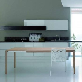 2 moderne design laserskårne hvide metalstole - Patatix