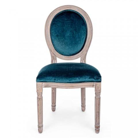2 klassiske design spisestuestole i Polyester Homemotion - Dalida