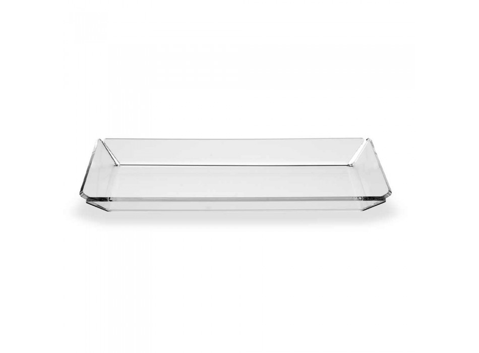 2 Plexiglasbakke i moderne design i gennemsigtig plexiglas - Tonio