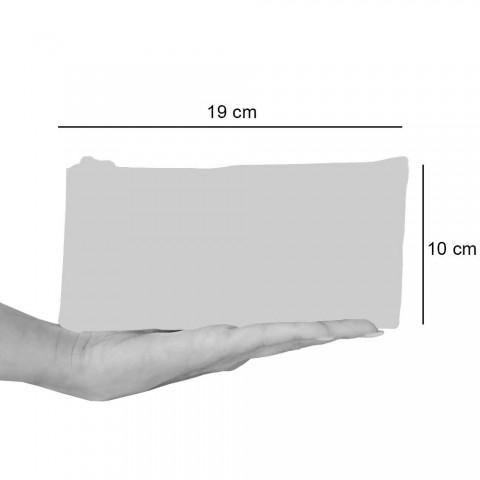 3 håndlavede bomuldskoblinger af høj kvalitet - Viadurini af Marchi