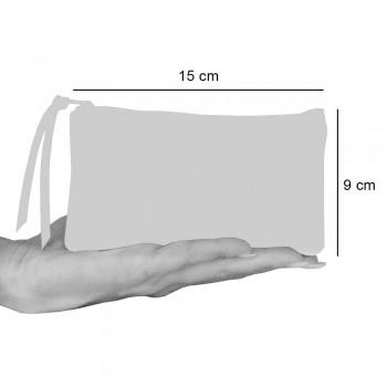 3 håndtrykte bomuldskoblinger i unikke stykker - Viadurini af Marchi