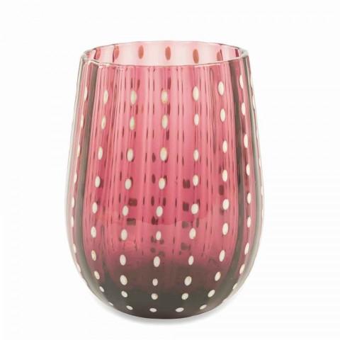 6 farvede og moderne glasbriller til elegant vandforsyning - Persien
