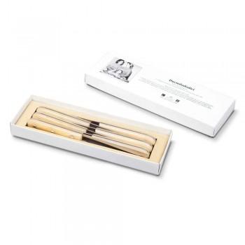 6 Bordknive 2012 Berti rustfrit stål eksklusiv til Viadurini - Annico