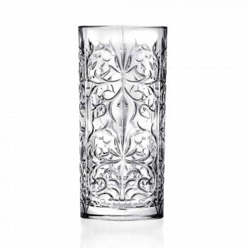 8 Highball Tumbler høje briller til cocktail i øko-krystal - Malgioglio