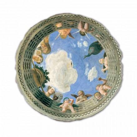 """Fresco Andrea Mantegna """"Oculus med Keruber og Dame udsigt"""""""