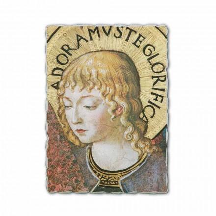 """Fresco Benozzo Gozzoli """"kor af engle i Tilbedelse"""" -1454"""