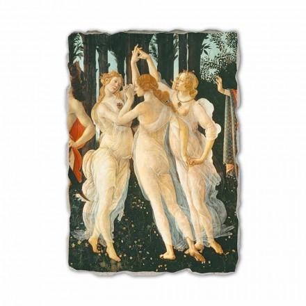 """Botticelli fresco """"Allegori of Spring"""" - detalje"""