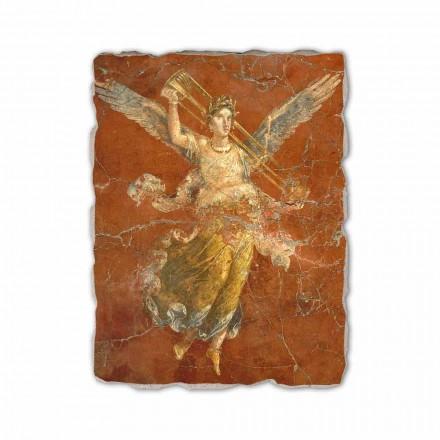 """Fresco håndlavet i Italien Roman """"Cycle of muserne"""""""