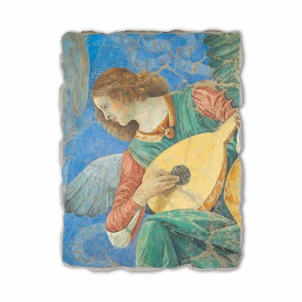 "Fresco håndlavede Melozzo da Forlì ""Angel Musiker"""
