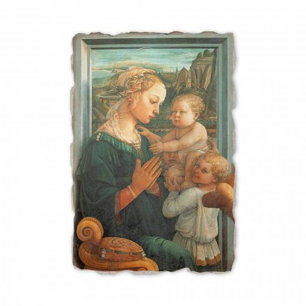 "Fresco gjort i italiensk Filippo Lippi er ""Madonna and Child"""
