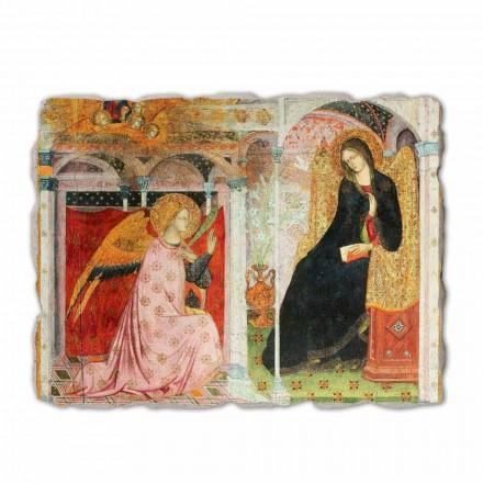 """Fresco Friar Ilario fra Viterbo """"Bebudelsen"""" særligt"""