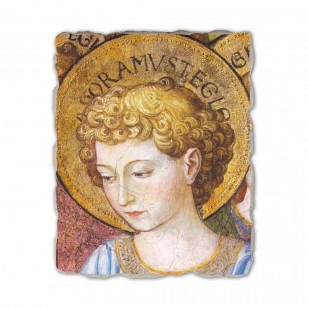 """Gozzoli fresco """"kor af engle i Tilbedelse"""" - 1454 ca"""